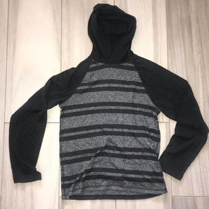Soft sweater like long sleeve hoodie